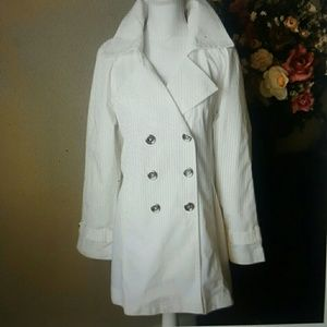 Michael Kors White Trench Coat